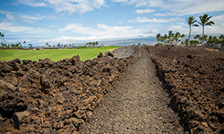 Photograph of Mauna Lani on the Big Island of Hawaii sliding into view.