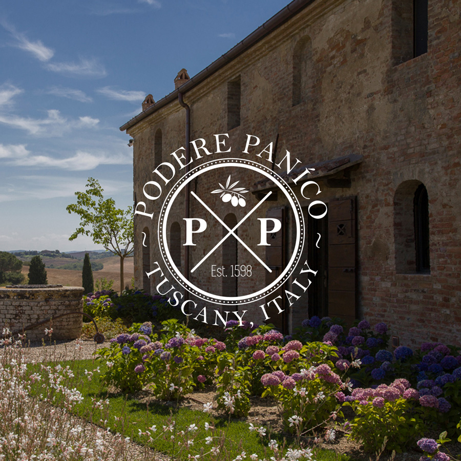 The Podere Paníco project in Tuscany.